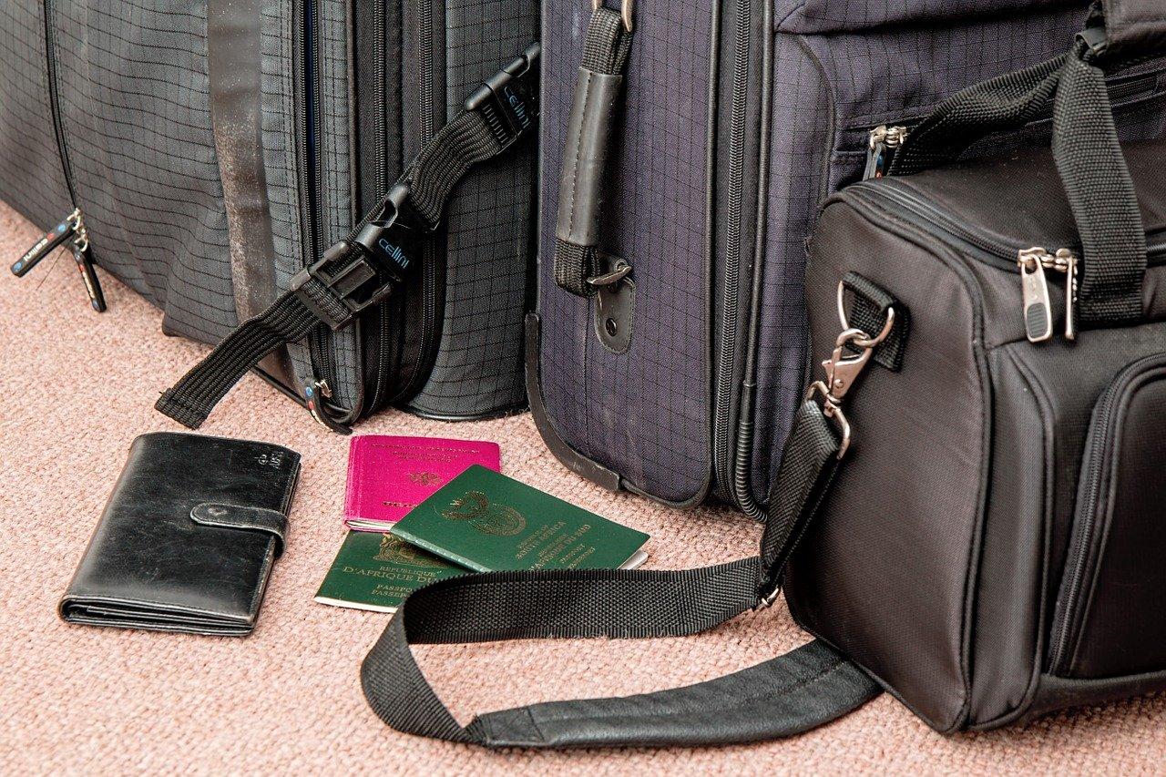 Arrumando a mala para viajar