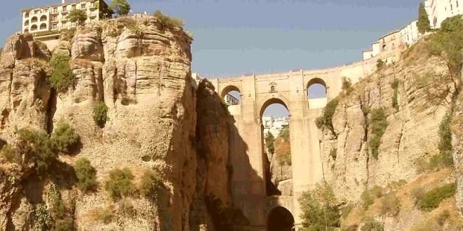 Pontos turísticos de Ronda, na Espanha