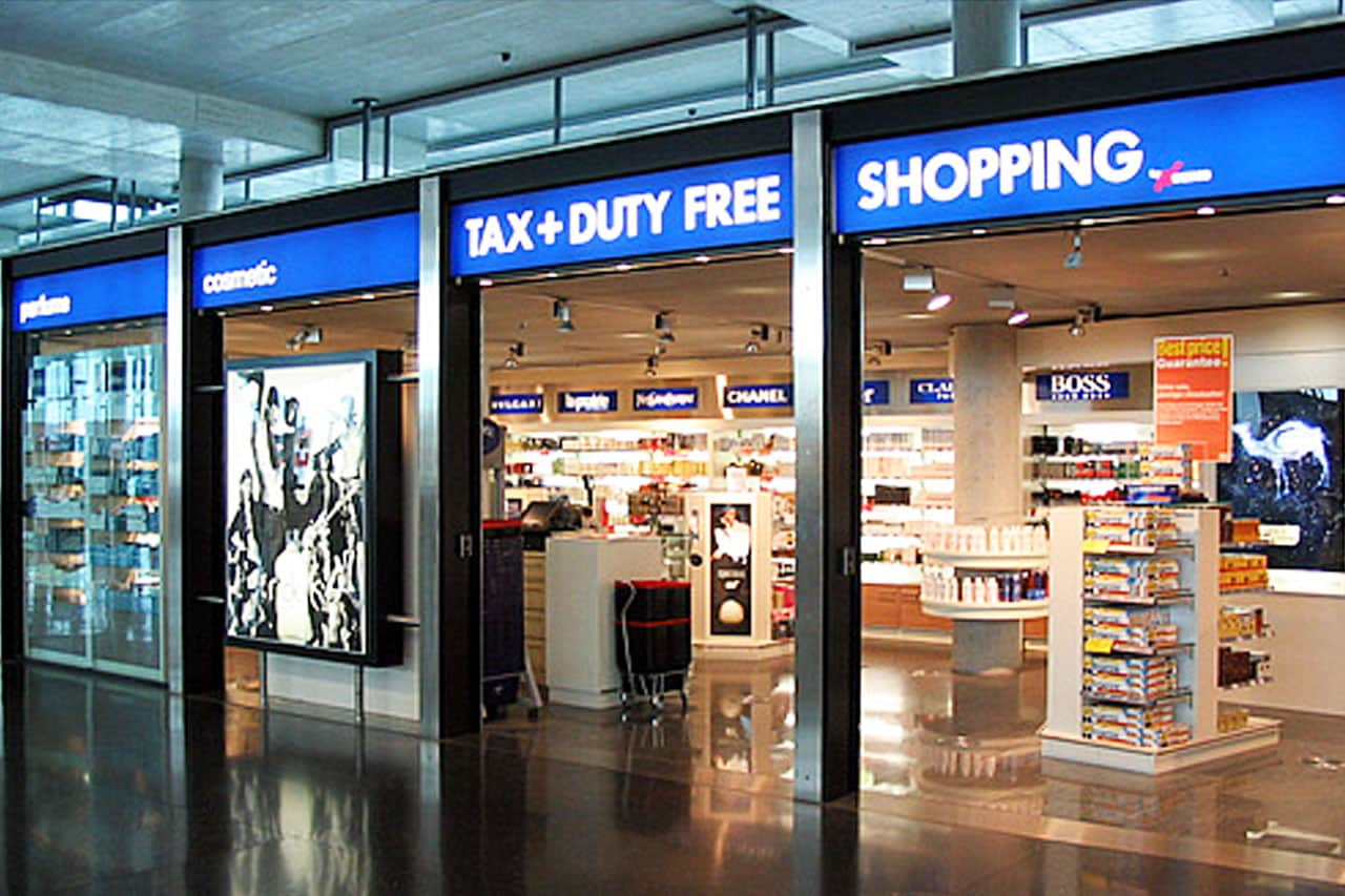 Compras no Free Shop