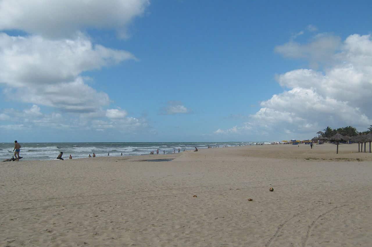 praias em fortaleza
