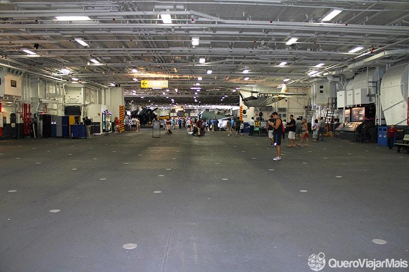 Museu dentro de navio nos EUA
