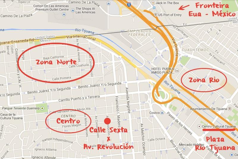 O que fazer em Tijuana / México