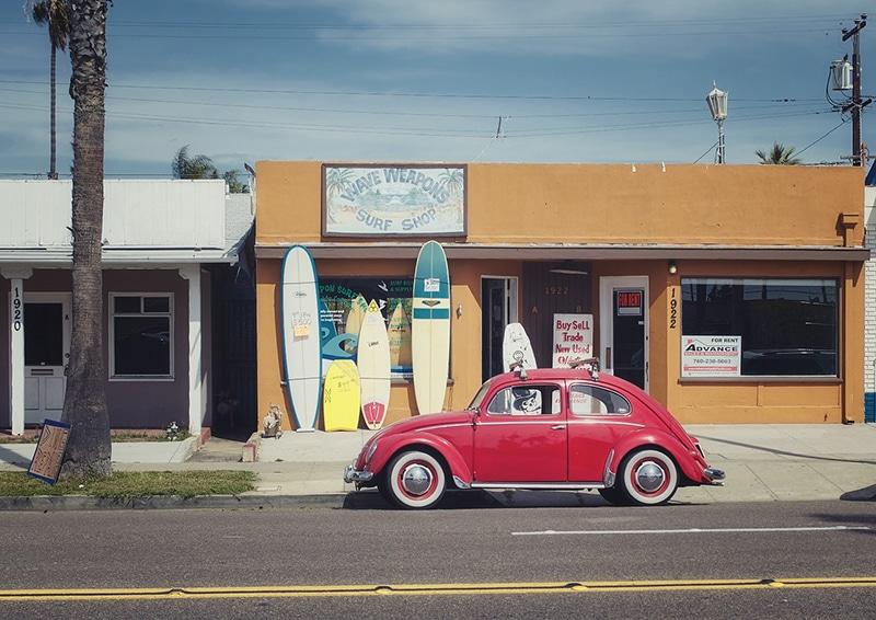 Comparar preços de aluguel de carros na Califórnia
