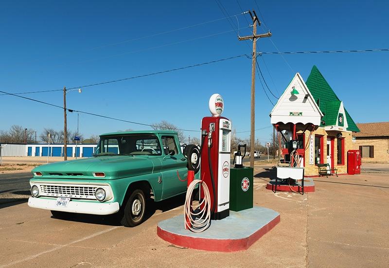 Preço do combustível na Califórnia