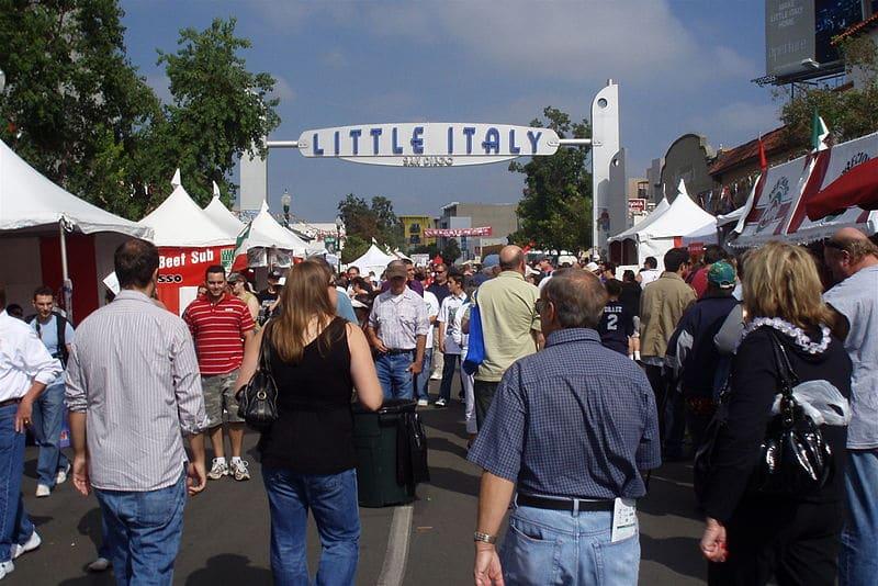 O que fazer em Little Italy / San Diego