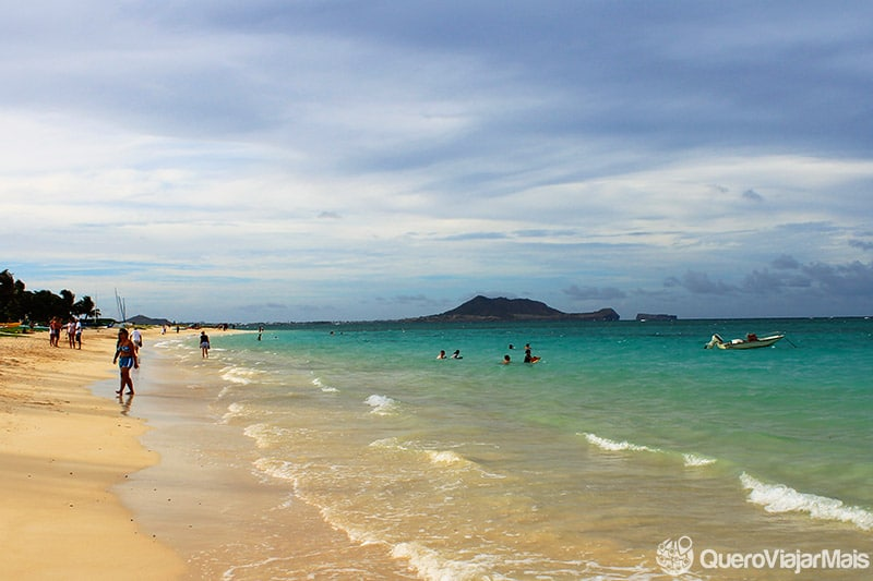 Praias lindas do Hawaii