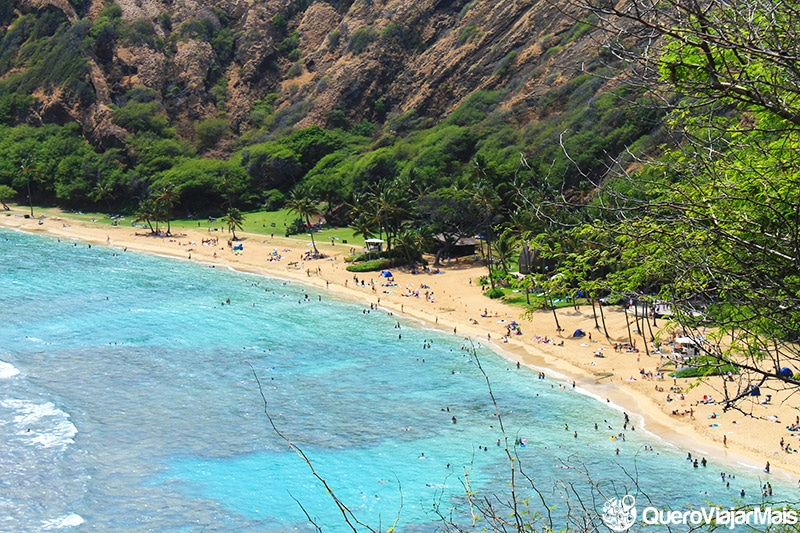 Hanauma Bay, uma das praias mais bonitas do Hawaii