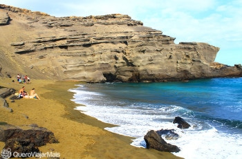 Green Sand Beach / Big Island