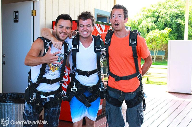 Saltar de paraquedas no Havaí