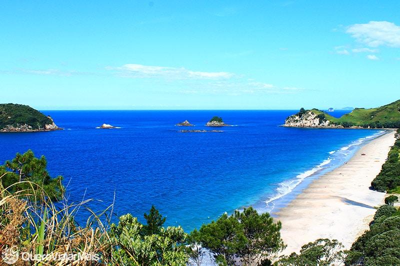Melhores praias da Nova Zelândia