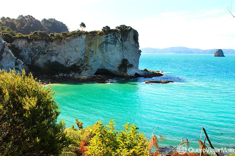 Praia mais bonita da Nova Zelândia
