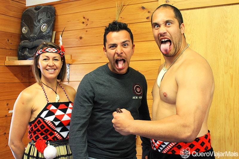 Ritual Maori na Nova Zelândia