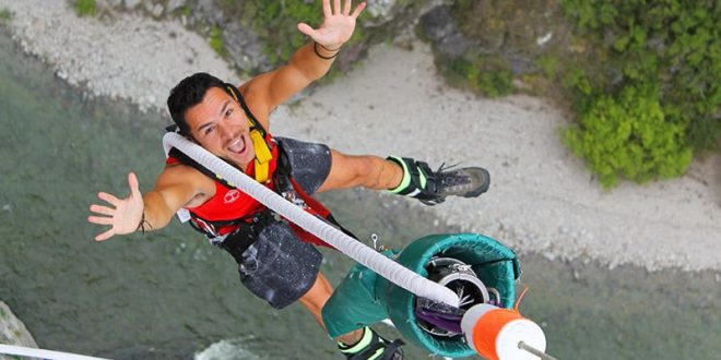Bungy Jump na Nova Zelândia