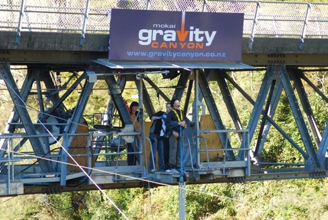 Onde saltar de bungy jump na Nova Zelândia