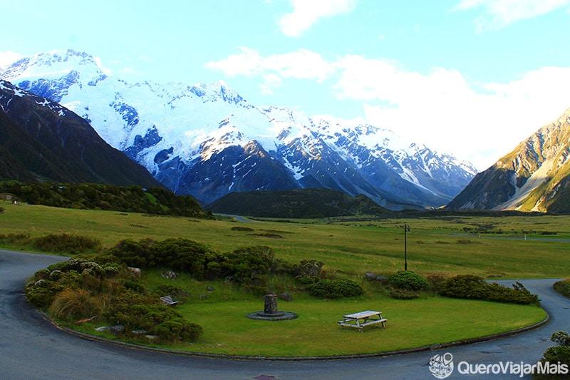 Onde ficar em Mount Cook