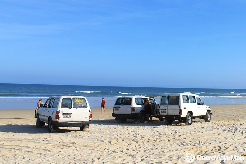 Alugar um 4X4 em Fraser Island
