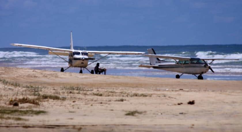 Voos de avião para Fraser Island
