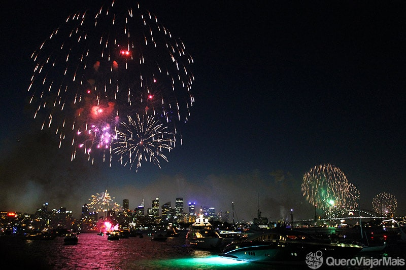 Reveillon em Sydney - Foto: Quero Viajar Mais