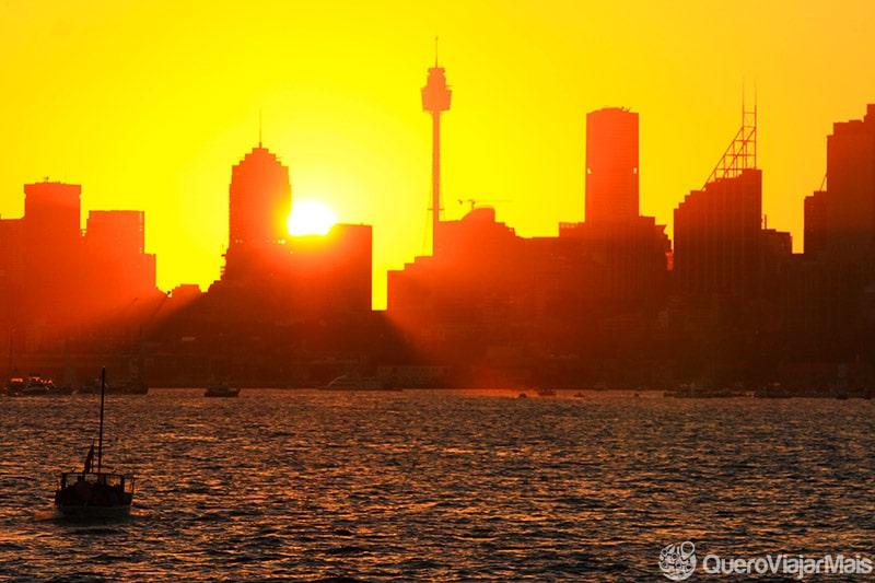 Festa de fim do ano em Sydney