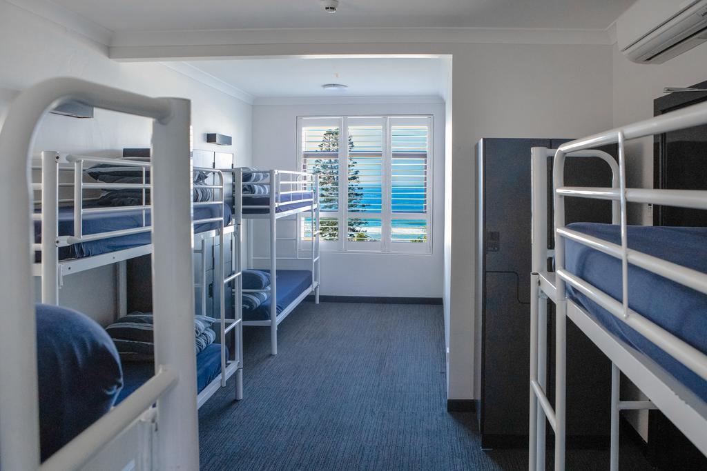hostel na praia em Sydney