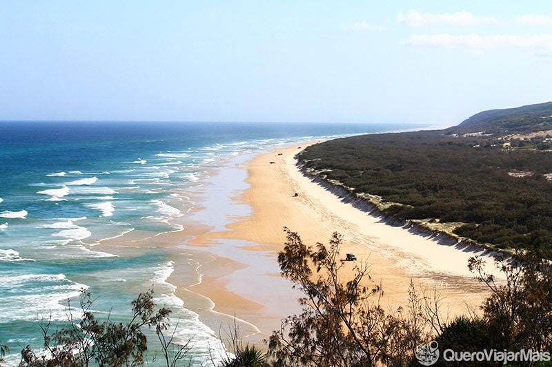 Perigos em Fraser Island