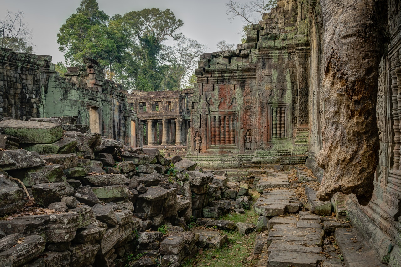 mapa turistico camboja
