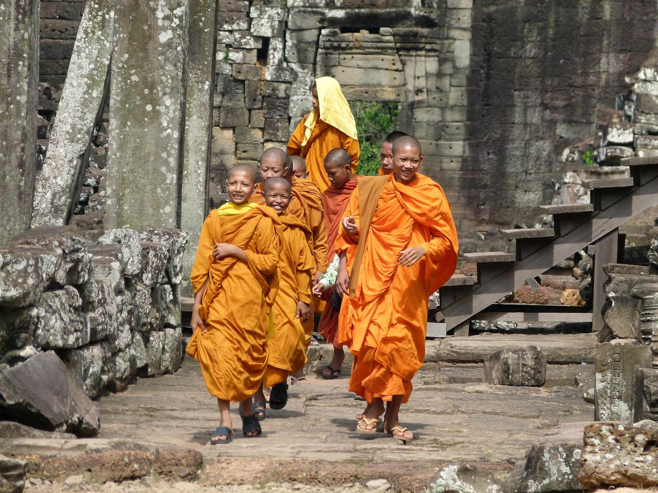 região turistica camboja
