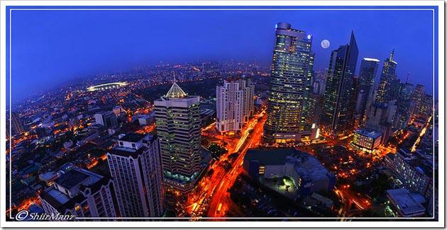O melhor bairro para se hospedar em Manila