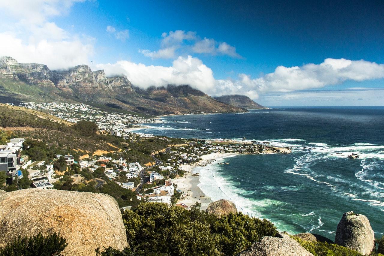 cambio na áfrica do sul