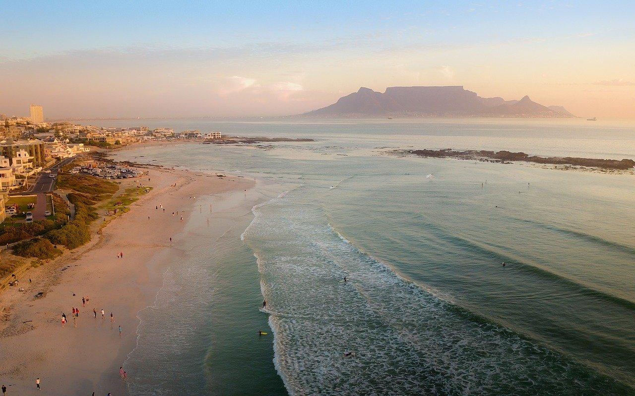 praias da áfrica