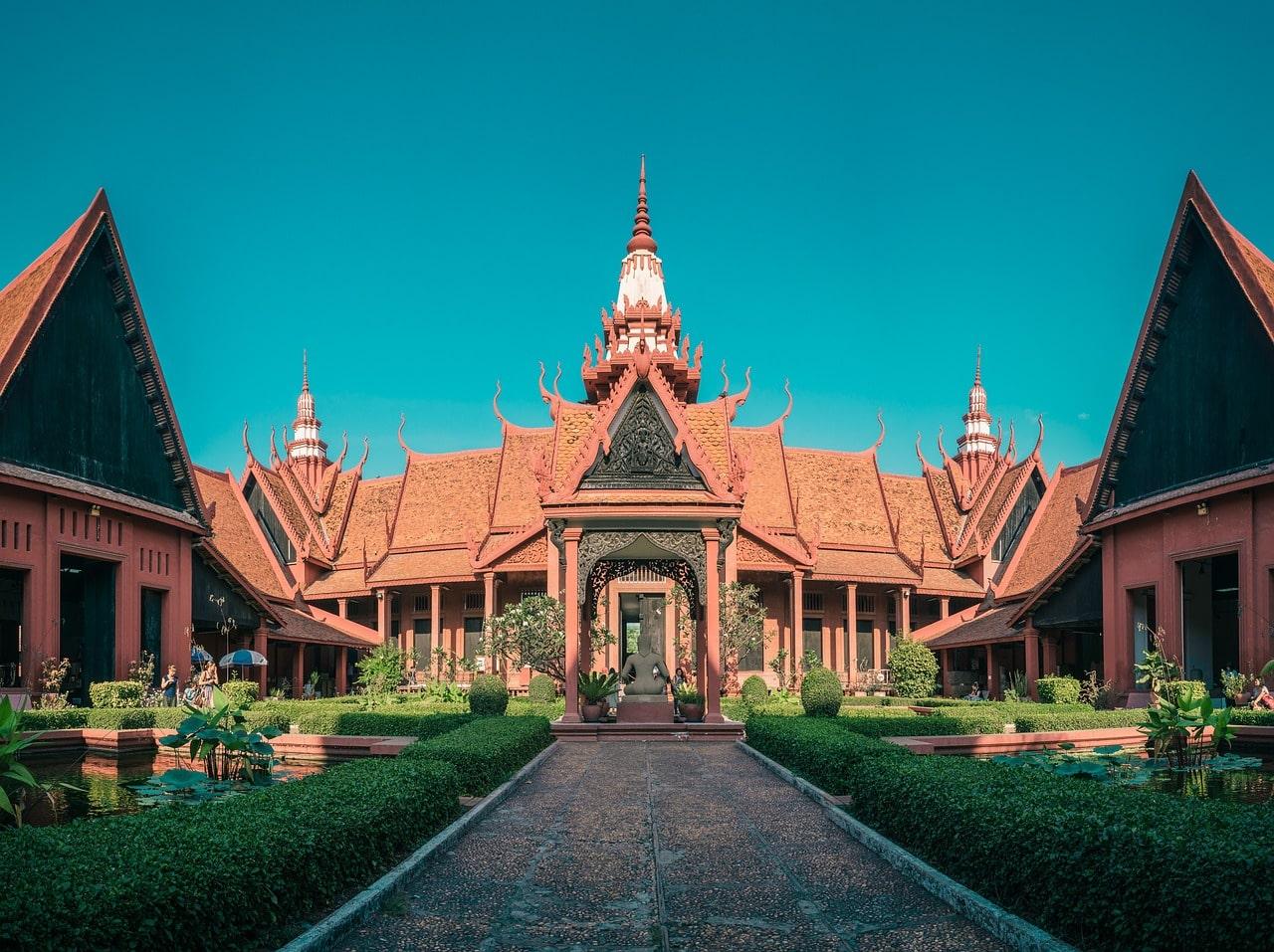 fuso horário do camboja