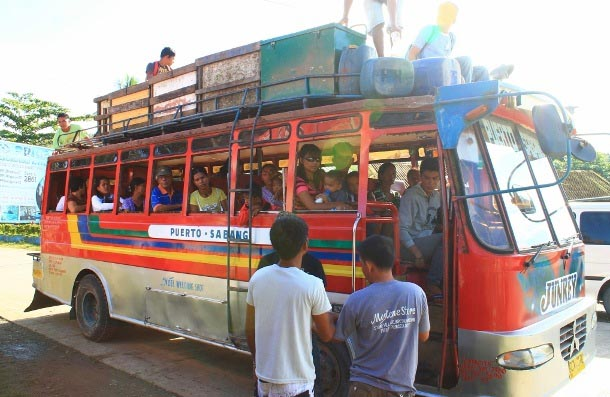 Viajar de ônibus nas Filipinas
