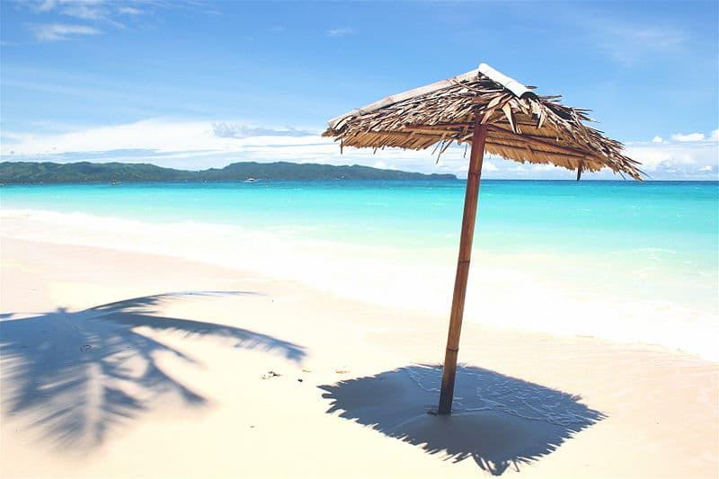 White Beach em Boracay.