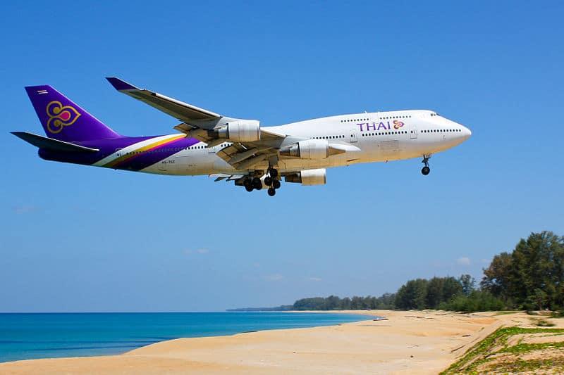 Aeroporto de Phuket / Tailândia