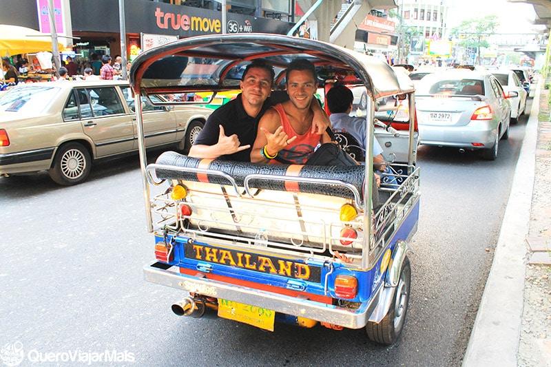 Transporte público em Bangkok