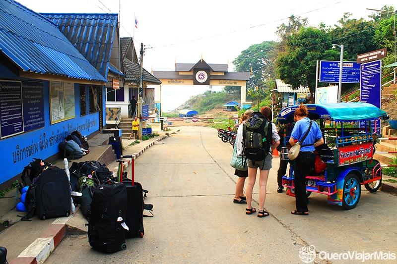 Fronteira entre Tailândia e Laos