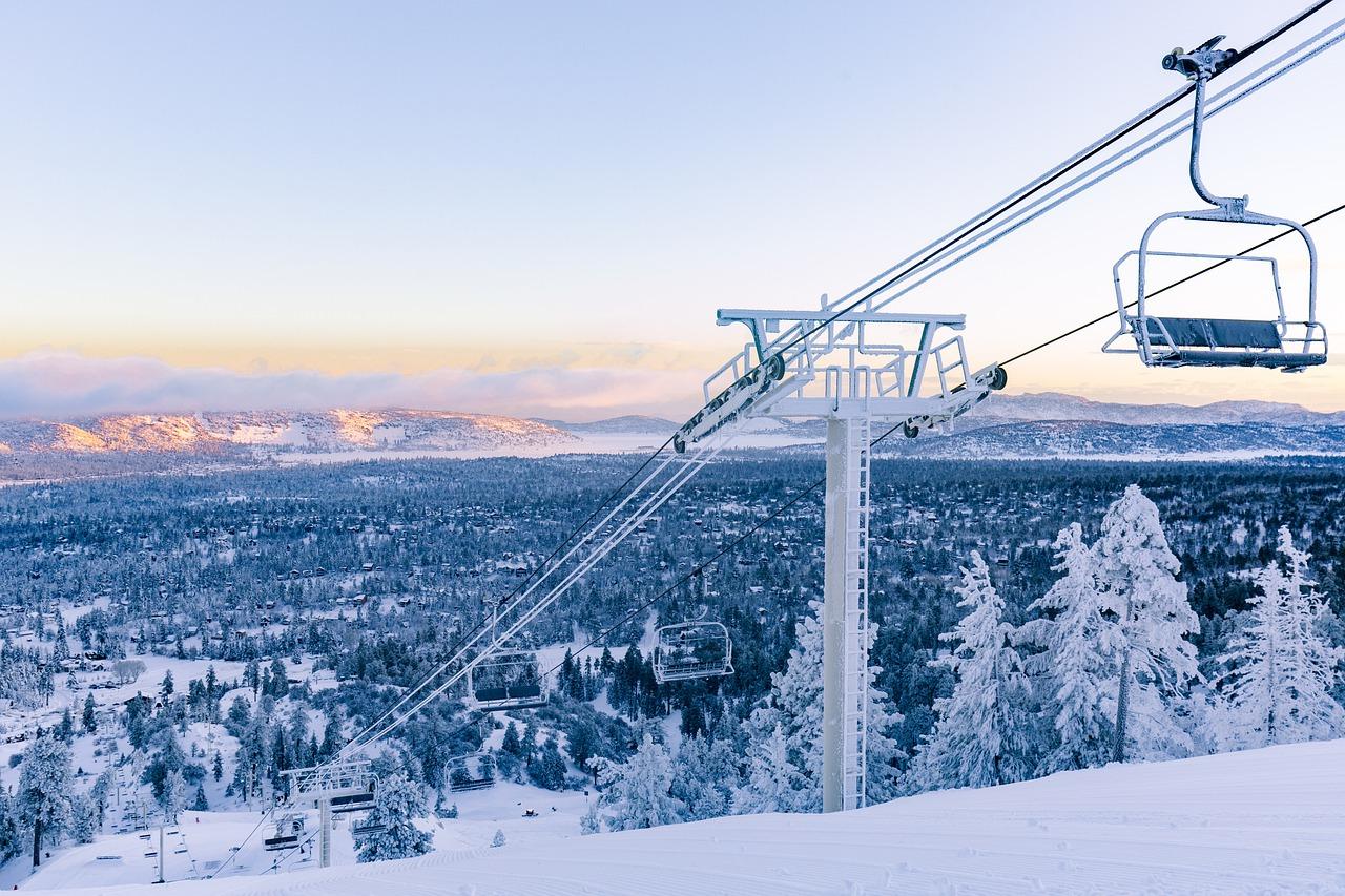 centro de esqui na califórnia
