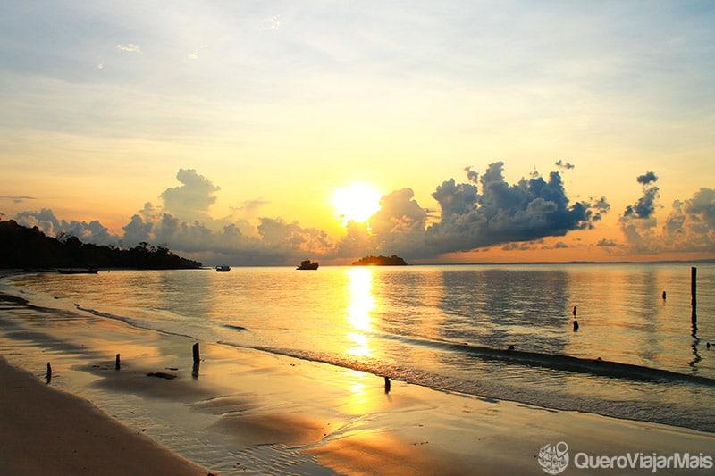 Praias do Camboja