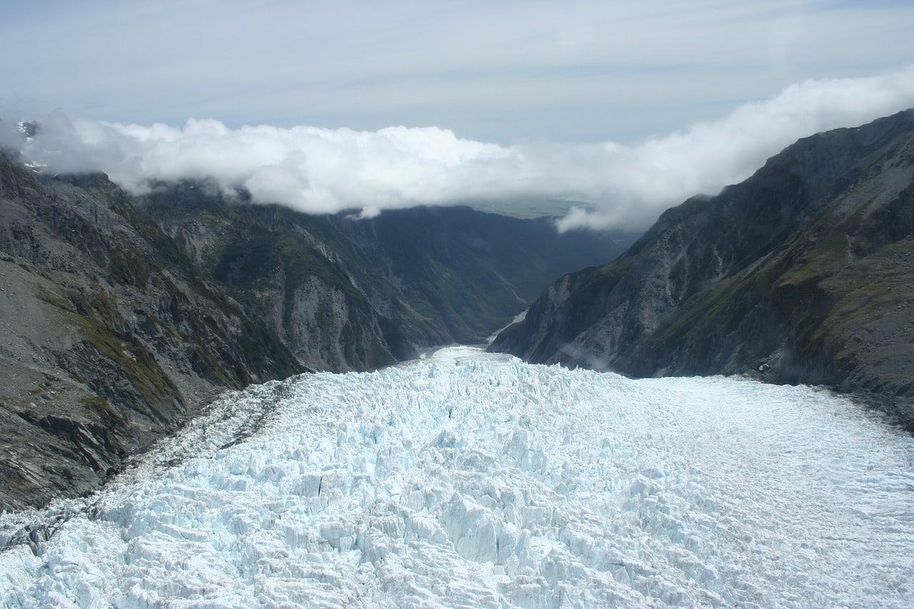geleiras na nova zelândia