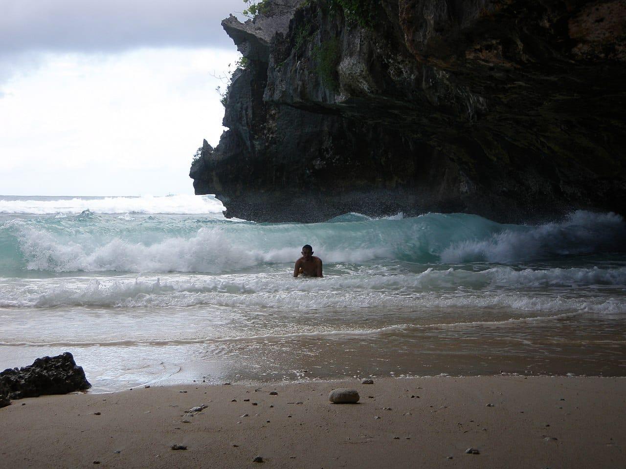 como chegar nas praias de bali