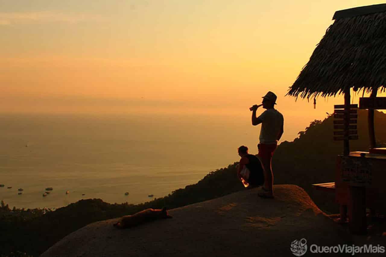 Mirante em Koh Tao