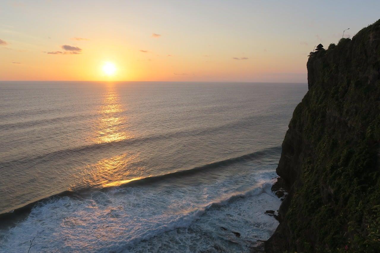 onde ver o pôr do sol em bali?