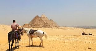 Passeio a cavalo nas Pirâmides de Giza