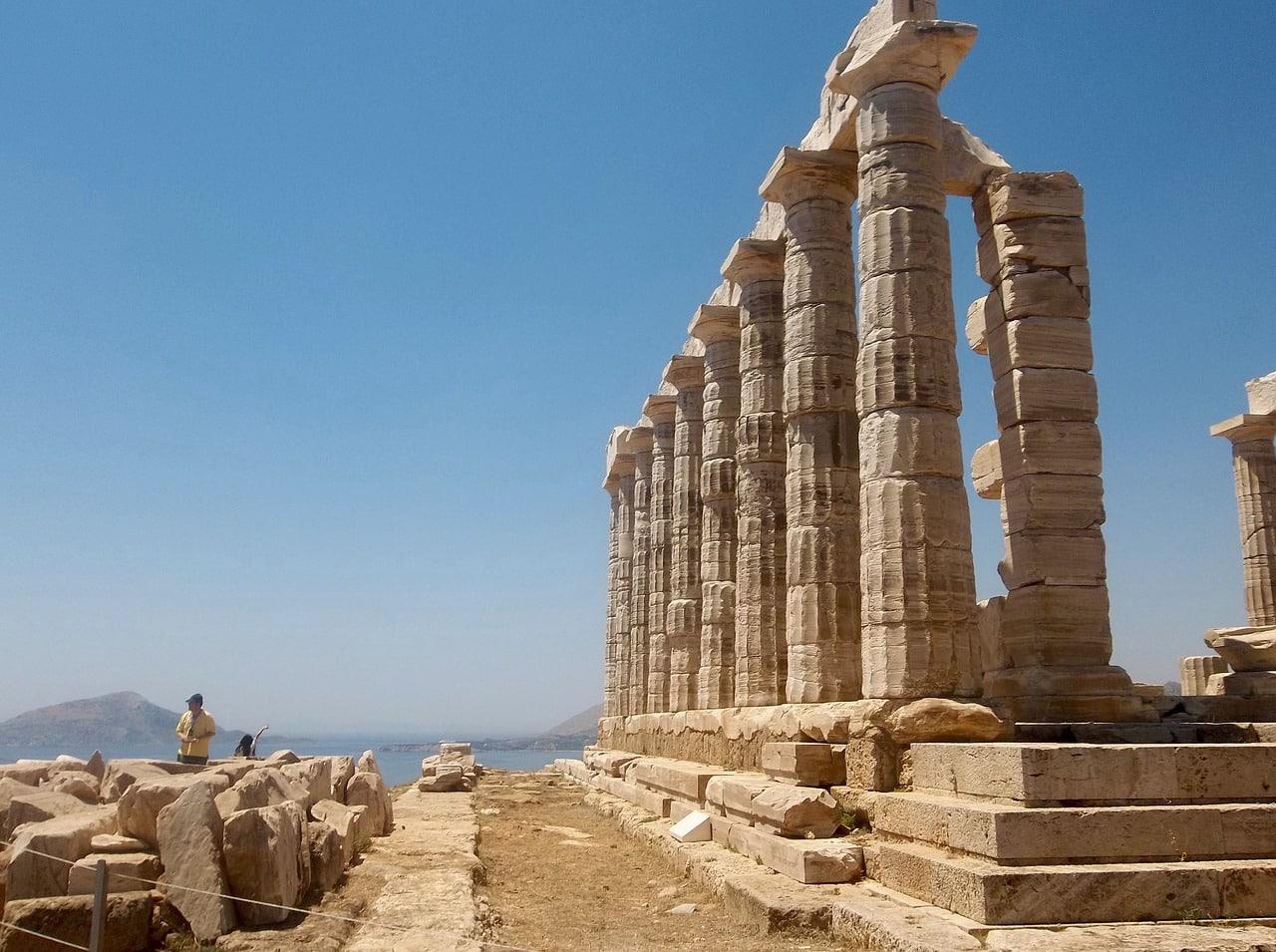 atrações da Grécia antiga