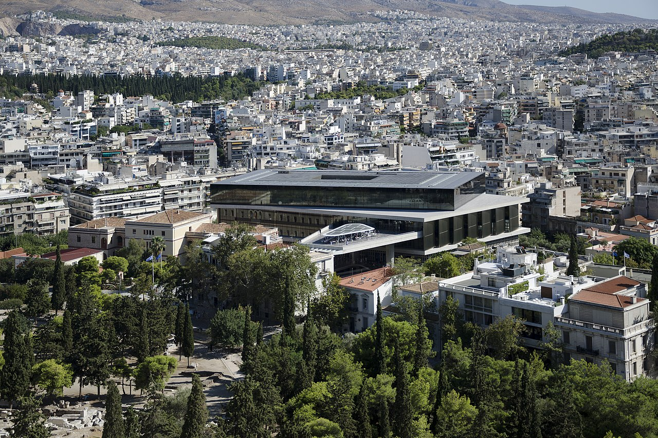 museus na grécia