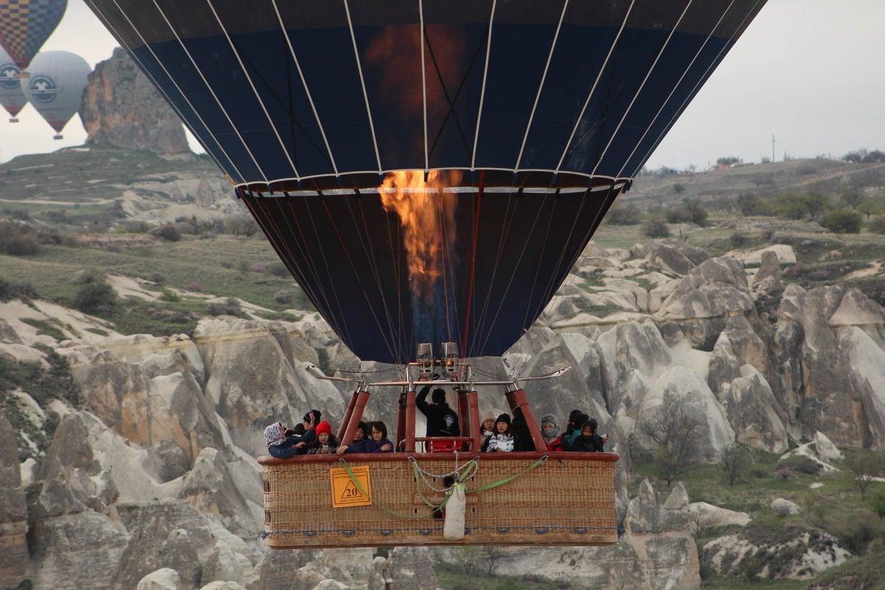 passeio de balão na capadócia preço