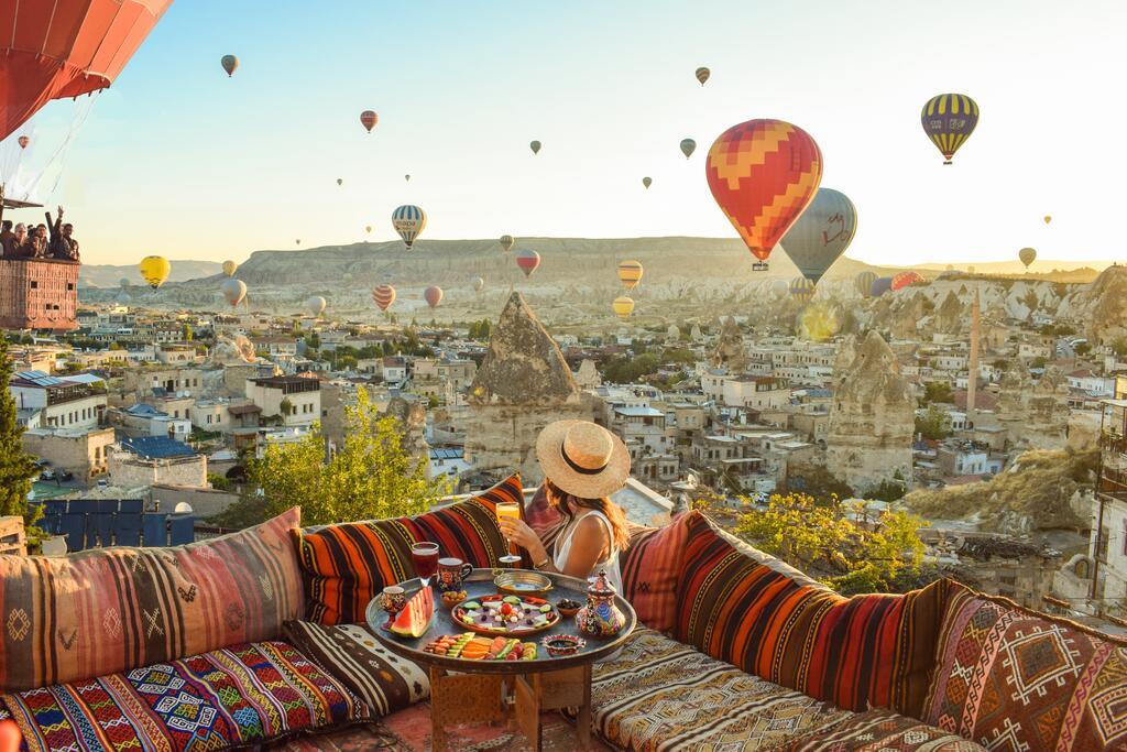 Hotéis com as melhores vistas para os balões da Capadócia