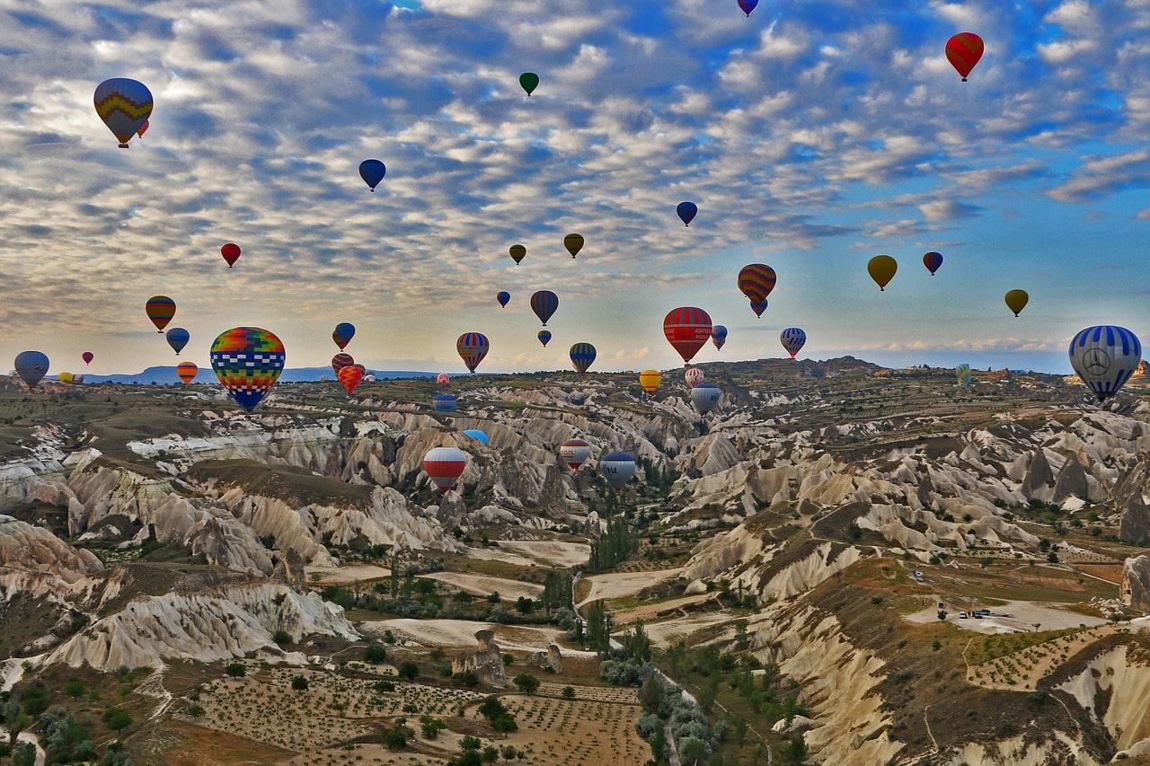 Tudo sobre o passeio de balão na Capadócia
