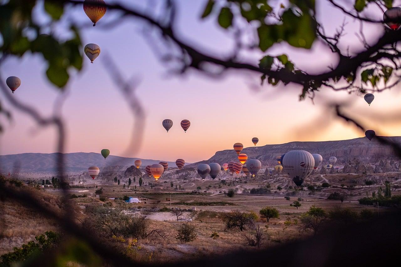 Como andar de balão na Capadócia?