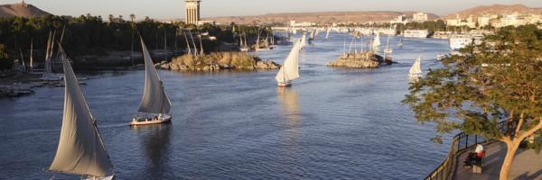 Dicas de hotéis em Aswan / Egito
